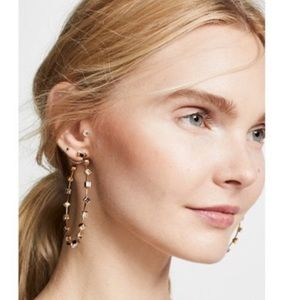 BaubleBar NWT Baublebar Elise hoop earrings